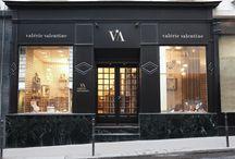 Notre Boutique Parisienne / Véritable écrin pour recevoir nos clientes et nos bonnes fées...