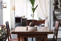 Ideeën voor in huis / Mooi die ene plant in zo'n schaal op tafel