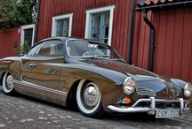 Karmann Ghia's / One of my favorite sport car....