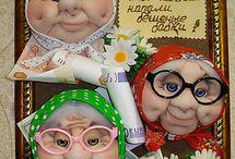 куклы из чулков