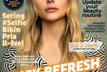 CLEO Indonesia Cover 2016 / Cover majalah CLEO Indonesia tahun 2016