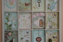 Crafts - Paper Tags/Shadow Boxes / by Penne K