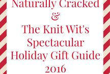 Holiday Gift Guide 2016 / The Knit Wit by Shair, and Naturally Cracked Mama have some great ideas for people on your list! Check out ones they have reviewed, or given as gifts, or it is on their wish list!