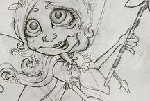 Bloobel Sketches