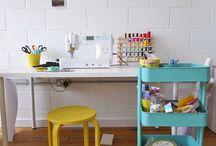 Ateliers / Inspiration pour aménager son atelier de création