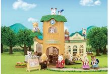 Sylvanian Families / We keep a huge variety of houses, shops, furniture and accessories, all of which are very detailed. We also stock a great selection of family sets. Every figure has a sweet and unique expression that any child would love.   Let us help you create your very own Sylvanian Village, so your children can explore different play patterns and create their own Sylvanian stories.