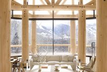 rocky mountain high / Cabins, rustic, lodge