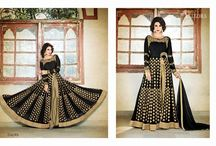 2342 VELLORA 3 DESIGNER GEORGETTE WEDDING WEAR ANARKALI