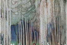 Kay Nielsen Illustrations / Because sometimes I just need to see them.