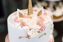 Unicorn cakes I like