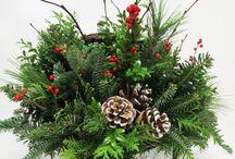 christmas arrangements centerpieces