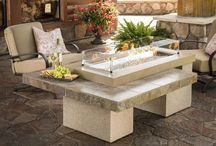 Fire Tables / Many people do not even know fire tables exist, so expect your table to be the topic of conversation. Being able to gather around a table to chat while being warmed by a flame is pretty special. / by Pro Home Stores