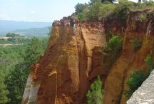 50 Shades of Ochre, France / Roussillon in Provence.