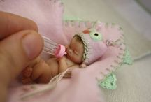 Polymer Clay Baby