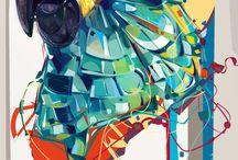 ColorSplashes Digital Art Inspiration