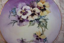 kukkia, orvokki