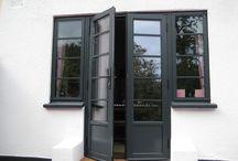 Widows and Doors / The visual vocabulary around aluminium doors and windows