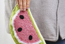 Knitting / Tejido dos agujas