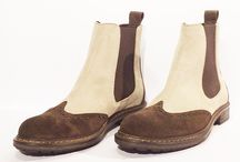 HandMade Boot Woman HandMade FW 2015 Tony Fargo / HandMade Destroyed Leather &Suede Woman Collection Tony Fargo Winter 2015