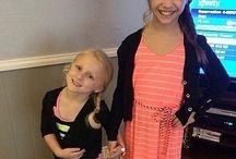 Mackenzie and Clara