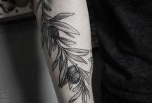 AA tatuaggio olivo