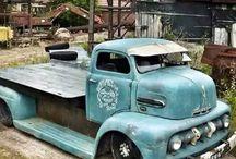Hot old Trucks