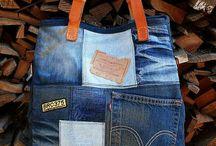 torba jeansy