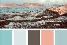 Color Palettes / Colors that compliment! / by Colorado Aisle Weddings & Events