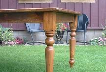 Rustic Farmhouse Tables