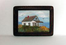 Beach Cottage Dollhouse