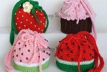 Crochet bolso infantil