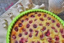 cherry cake / cseresznyés, meggyes sütik
