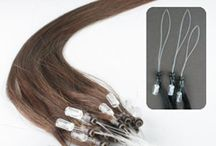 Micro Ring Hair Extensions / Micro Ring are considered to be the most undetectable hair extensions available in the market. They are the quickest, most natural looking and pain free extensions. Made with 100% real Remy human hair, Cliphair offers the least damaging Micro link hair extensions. It doesn't involve glue, heat, bond or chemicals and hence least damaging to your natural hair #Microring #Hair #Extensions - http://www.cliphair.co.uk/Micro-Ring-Hair-Extensions/