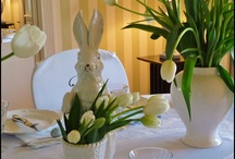 Easter Soft blues and Whites / Light blue and white Easter Inspirations