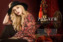 Colección THE NEW BOHEMIAN Otoño Invierno 2015