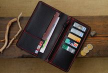 Leather Wallet, Mens Wallets, Men's Leather Wallet. / fashion style leather wallet travel craft leathergoods handcraft 22theportall leathercraft mensstyle mensfashion watchstrap watchband mensaccessories