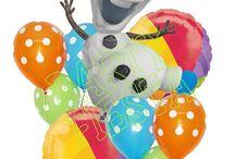 Olaf Summer birthday decorations