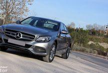 PRUEBAS CLASE C Y GLA / Selección de las mejores imágenes de las pruebas del Mercedes-Benz Clase C y el Nuevo GLA