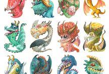 Criaturas / El lado oscuro de la imaginación, cobra vida de una manera salvaje.