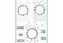 """Stempelset Anhänger Für Dich II / Viele Ideen rund um das Stempelset """"Anhänger für Dich II"""" Das Set findet Ihr hier: https://www.creative-depot.de/produkt/stempelset-anhaenger-fuer-dich-ii/"""