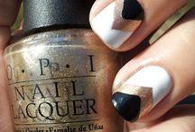 Nailart Dark Colours