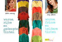 Kleuradvies / Kleuradvies - kleding