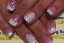 diseños uñas para casamiento
