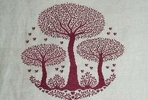 cross stitch e crochet