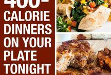 dinner options 400 calories