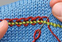 Вязание вышивка