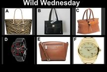 Win It Wednesday September 3 at 10 PM / Designer watches and Handbags - for women and men at 10 PM tonight - only @OneCentChic