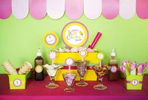 Party - Ice Cream Social Theme