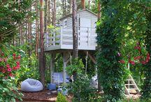 Treehouse Green Canoe