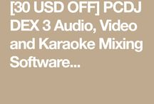 PCDJ DEX 3 Audio, Video and Karaoke Mixing Software